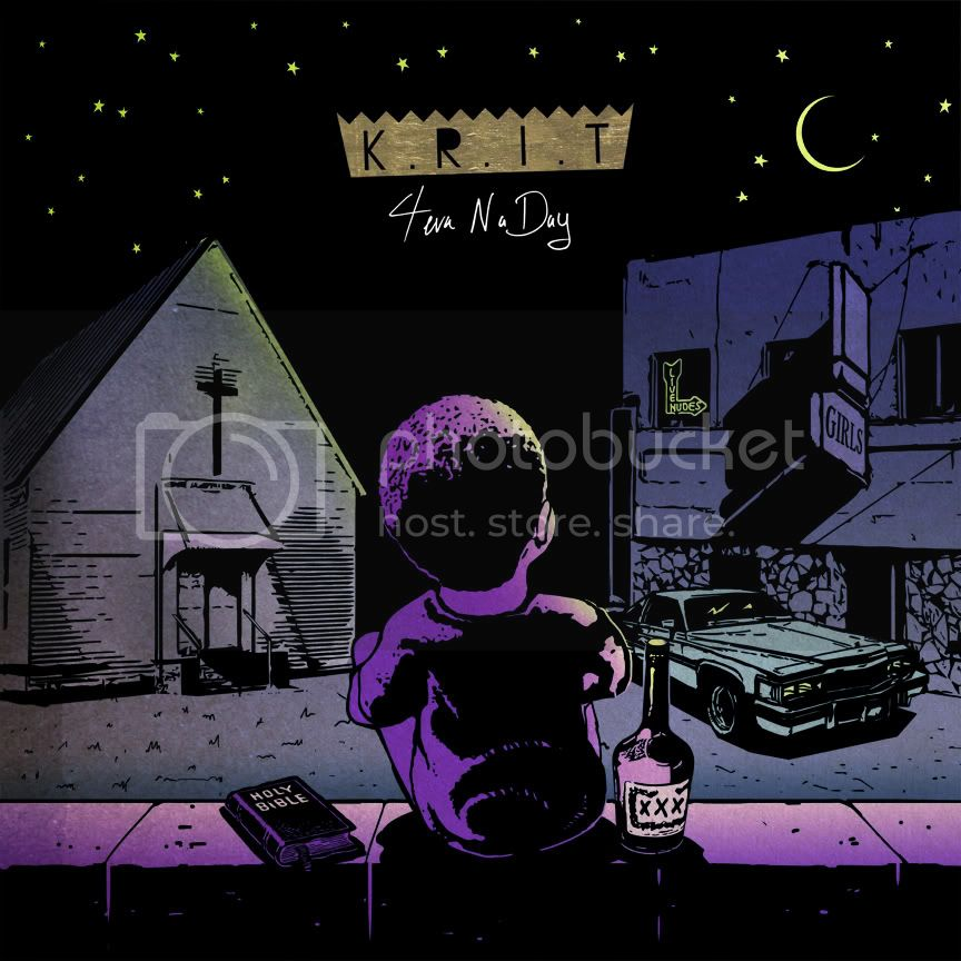 Big K.R.I.T. &#8211; 4evaNaDay (Album Artwork &amp; Tracklisting)